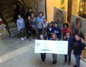 Students raise € 1005