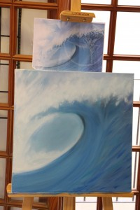 Waves Oil Painting workshop